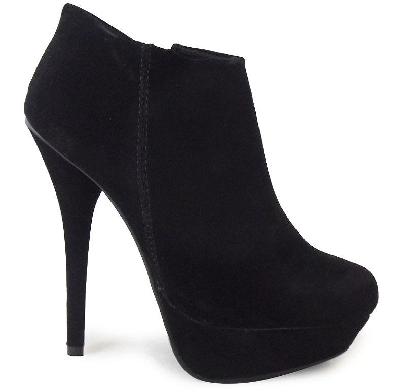 WOMENS-LADIES-ANKLE-BLACK-HIGH-STILETTO-HEEL-FAUX-SUEDE-PLATFORM-SHOES-BOOTS-3-8